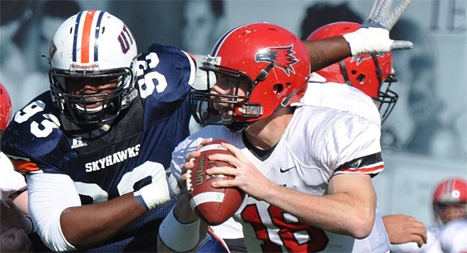 Redhawks Comeback Falls Short in 38-30 Loss to UT Martin