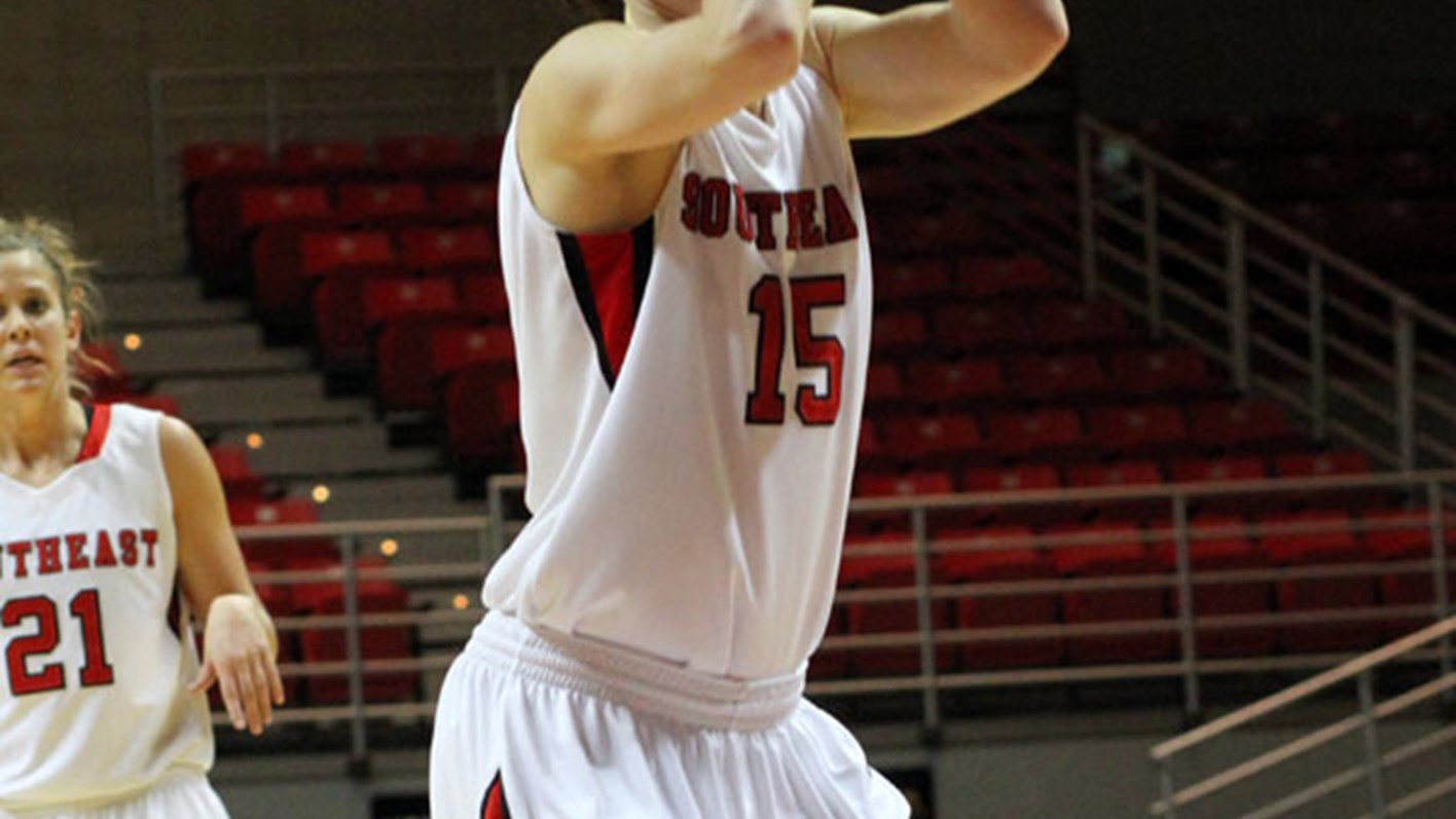 Shiffer's Career Night Leads Redhawks Past Lions, 66-56
