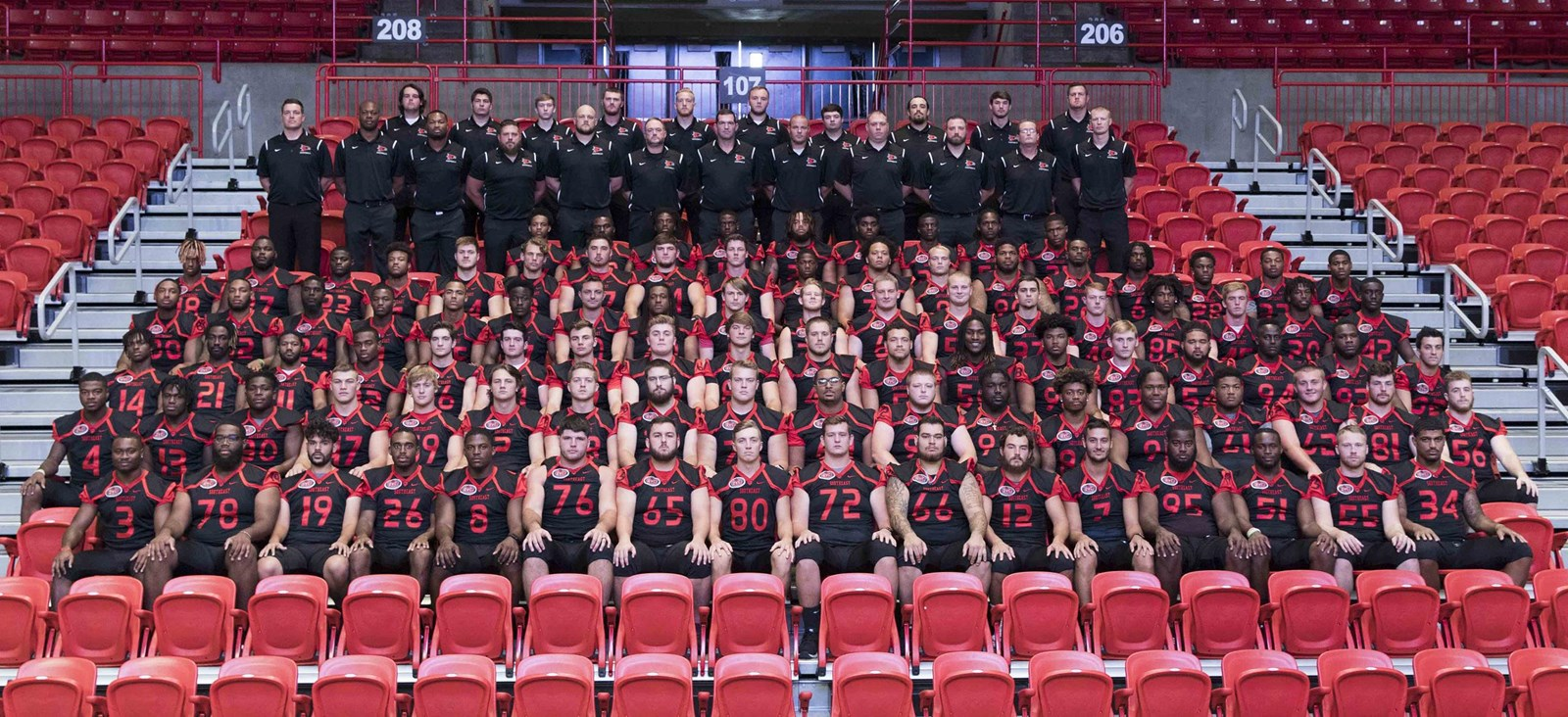 2018 Football Roster Southeast Missouri State University Athletics
