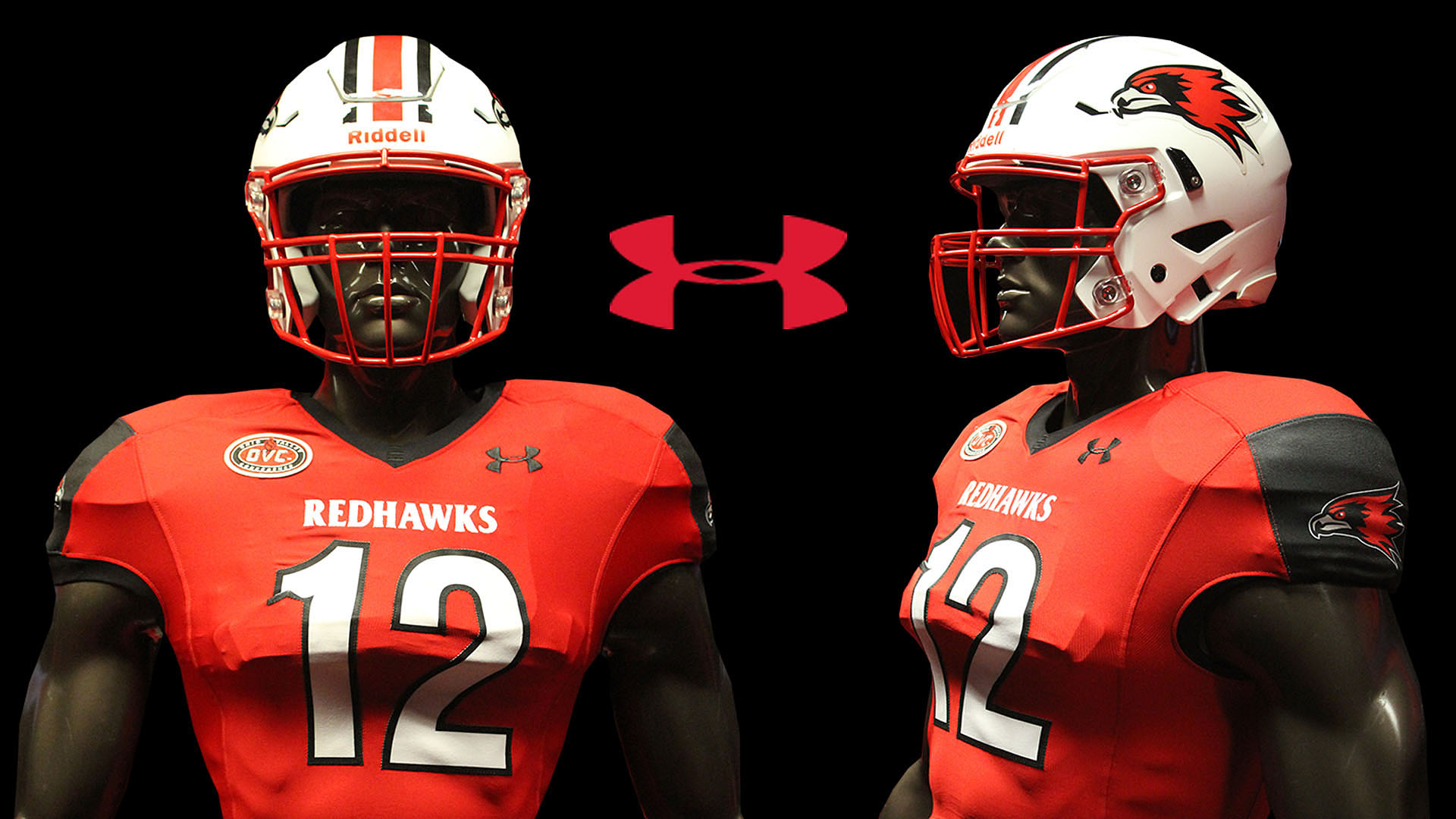 official photos 3f1ce ca05b Redhawks Unveil New Red Under Armour Uniforms for Saturday's ...