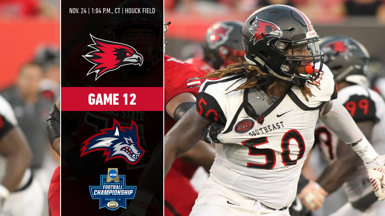 20 Southeast Missouri Hosts 15 Stony Brook In First Round Of Fcs