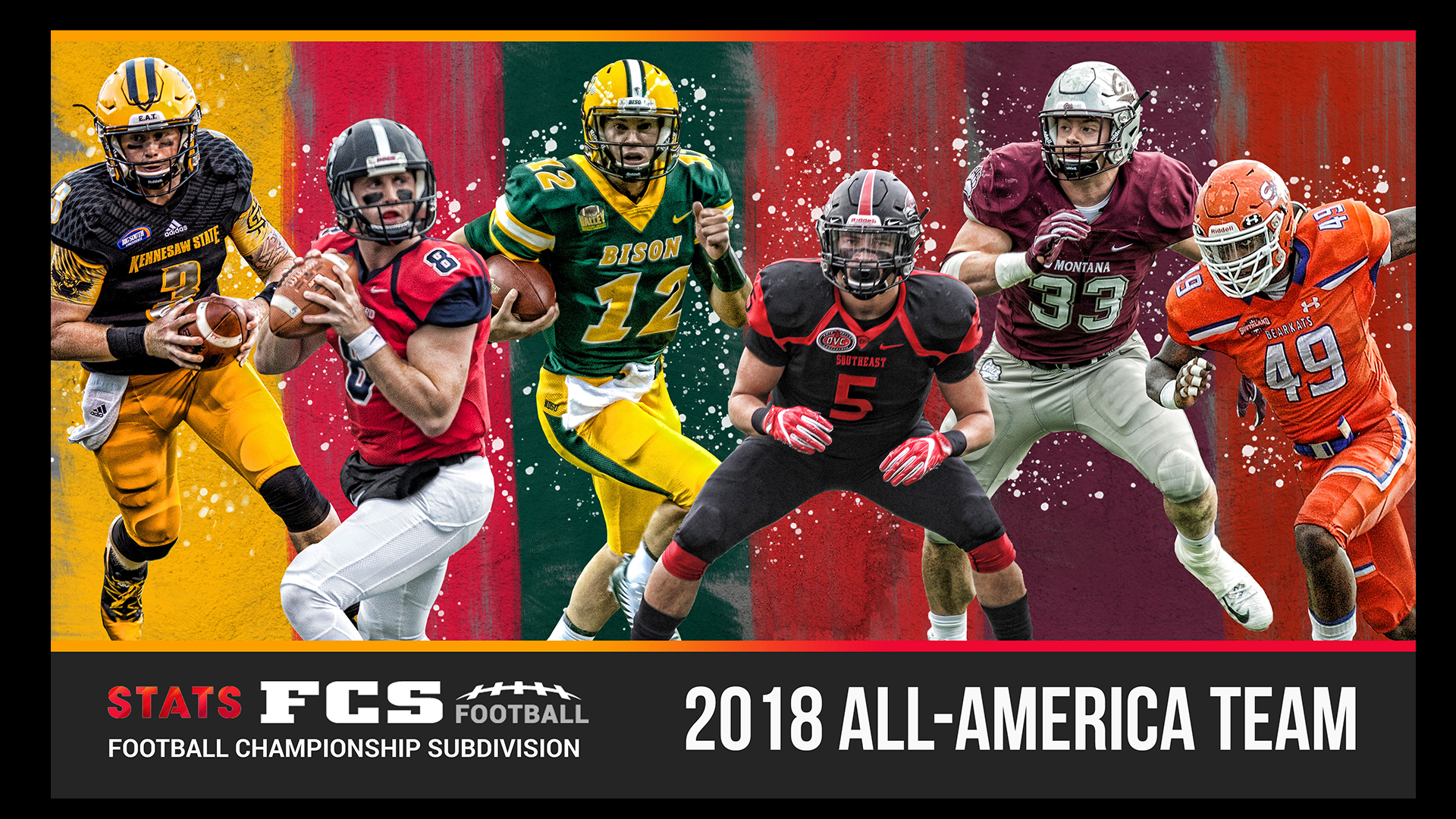 Redhawk Trio Makes 2018 Stats Fcs All America Team Southeast