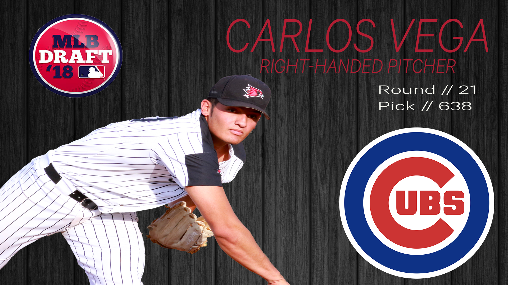 Vega Drafted By The Chicago Cubs Southeast Missouri State